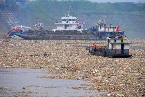 Yangtze plastic garbage